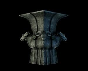 青铜器四羊方尊三维演示动画